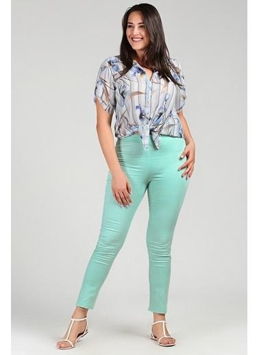 Womenice Pantolon Yeşil